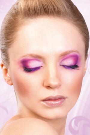 Black-Purple Deluxe Eyelashes