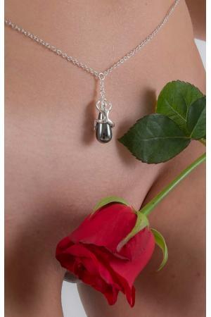Donella Silver Infinite Fairy Pendant Waist Chain