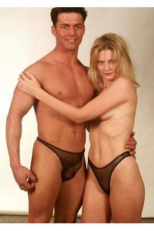 His 'n' Hers Fishnet Panties