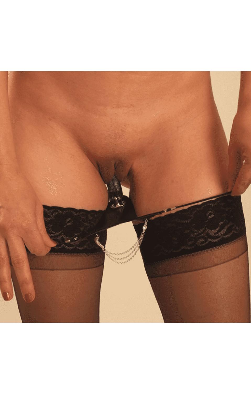 Vibrator wife g string