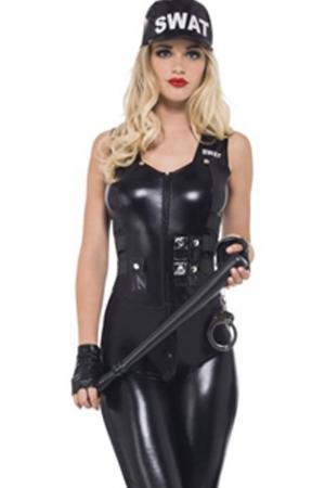 SWAT Team - Women's Cop Costume