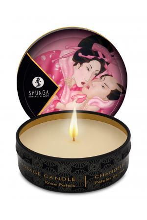 Mini Massage Candle - Aphrosisia - Roses Petals -  1 Fl. Oz.