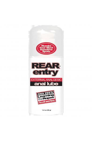 Ona Zee Rear Entry Anal Lube 3.4 Oz - DJ2180-03