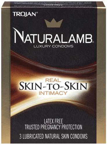 Image of Trojan Naturalamb Luxury Condoms - 3 Pack