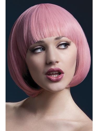 Mia Wig - Pastel Pink