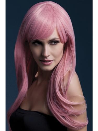 Sienna Wig - Pastel Pink