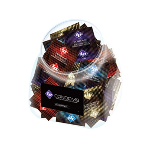 Image of ID Condoms - Assorted - 144 Piece Jar