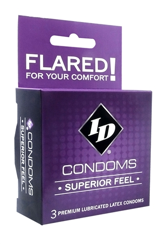 Image of ID Superior Feel Condoms - 3 Pack