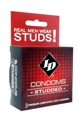 Image of ID Studded Condoms - 3 Pack